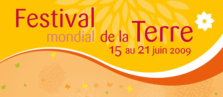 Affiche du Festival de la terre
