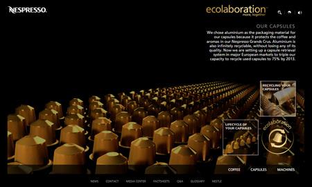 Nespresso capsules (ecolaboration)