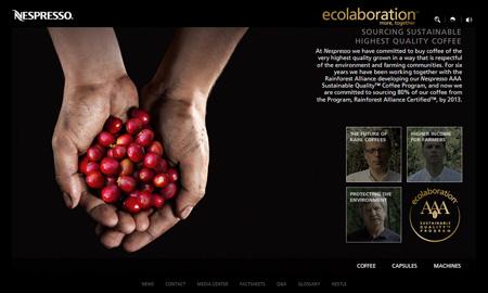 Nespresso Hand and Coffee (ecolaboration)