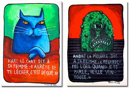 Copyrights Michel FR - Animosités (playing cards)