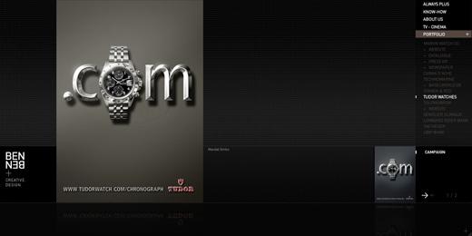 Site Web Beben Creative design - agence de communication