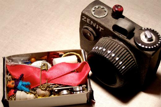 Camera & Ribbon