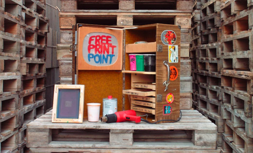 Free-print-point