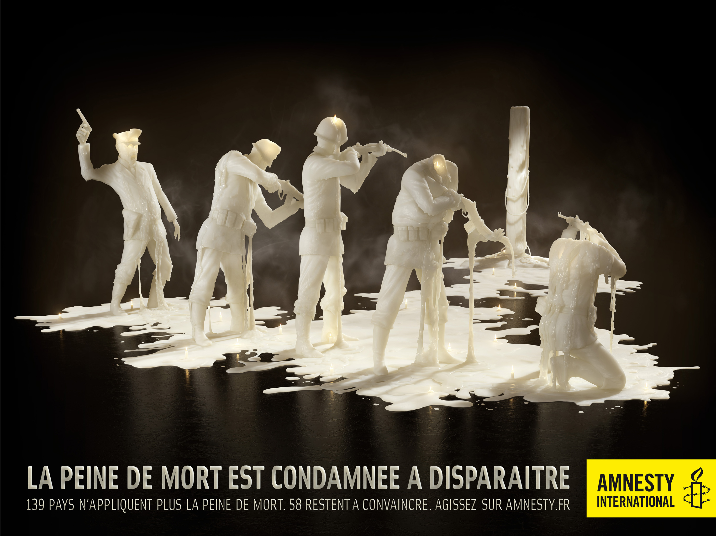 Célèbre Great Amnesty International posters - Digital Project Manager ZL06