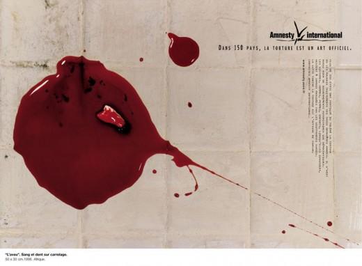 Affiche Amnesty International