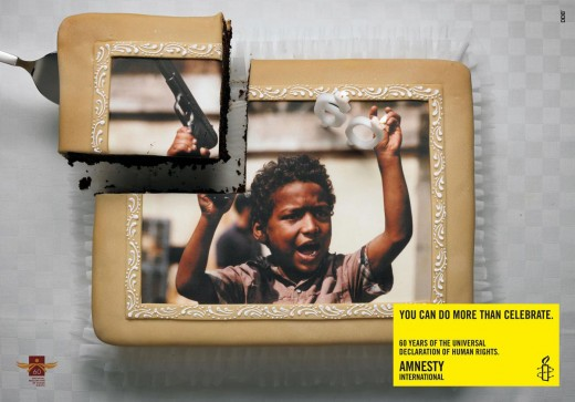 Exceptionnel Great Amnesty International posters - Digital Project Manager HL96