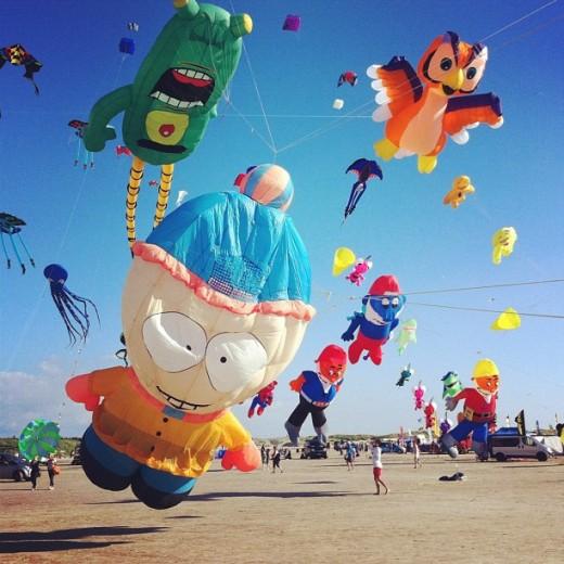 Festival de cerf-volants, Sankt Peter Ording