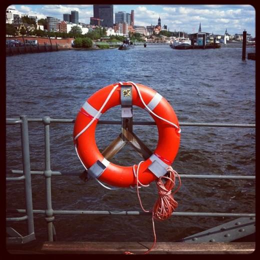 Bouée du port de Hamburg