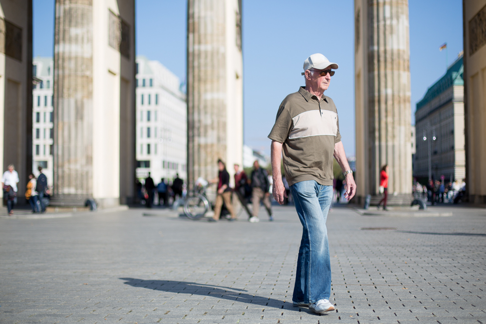 Passer-by in Berlin
