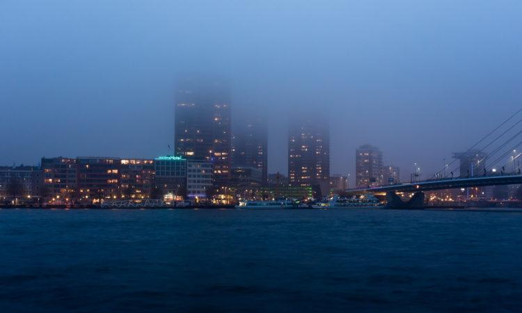 Foggy Rotterdam