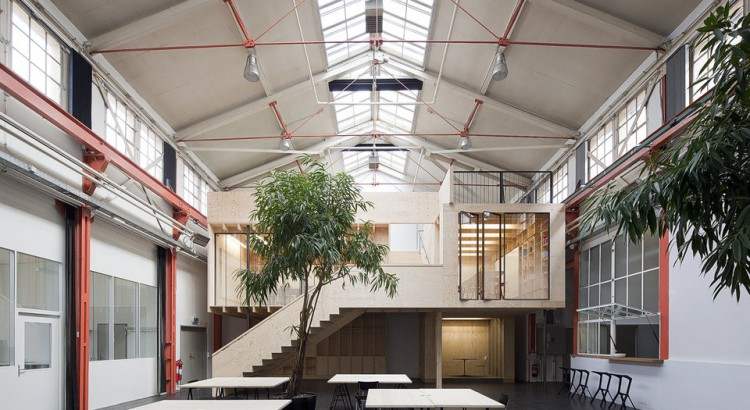 Coworking spaces in basel and other cool work environments - Architektur basel ...